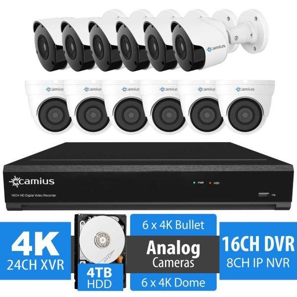 Camius 16 channel 12 camera dvr system