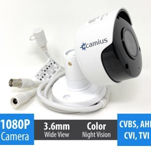 Camius camera 1080p analog outdoor security FB2ATC