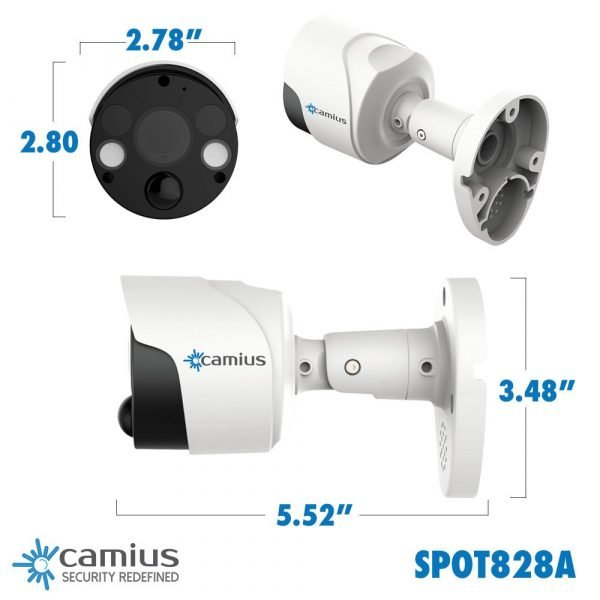 camius-slotlgithcam-4k-IP camera with audio