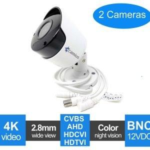 camius 4K 2 pack camera analog