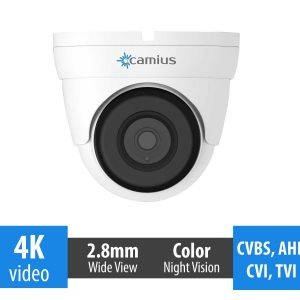 4K dome security camera