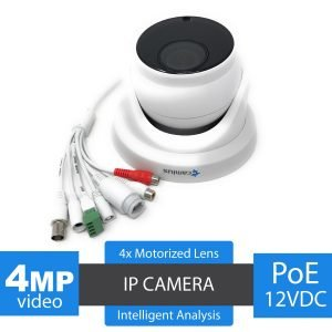 Camius guardma 4mo poe dome camera