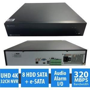 CAMIUS 4K 32 channel IP security NVR IPVAULT8320-N