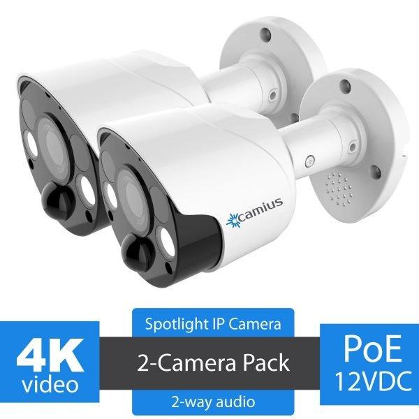 Camius spotlight camera spot828a 2 pack