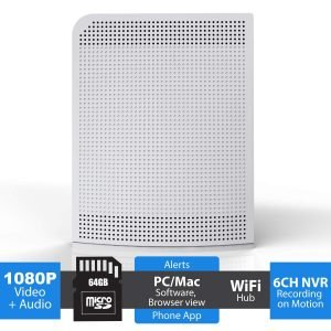 Camius WFN664G wireless wifi hub nvr